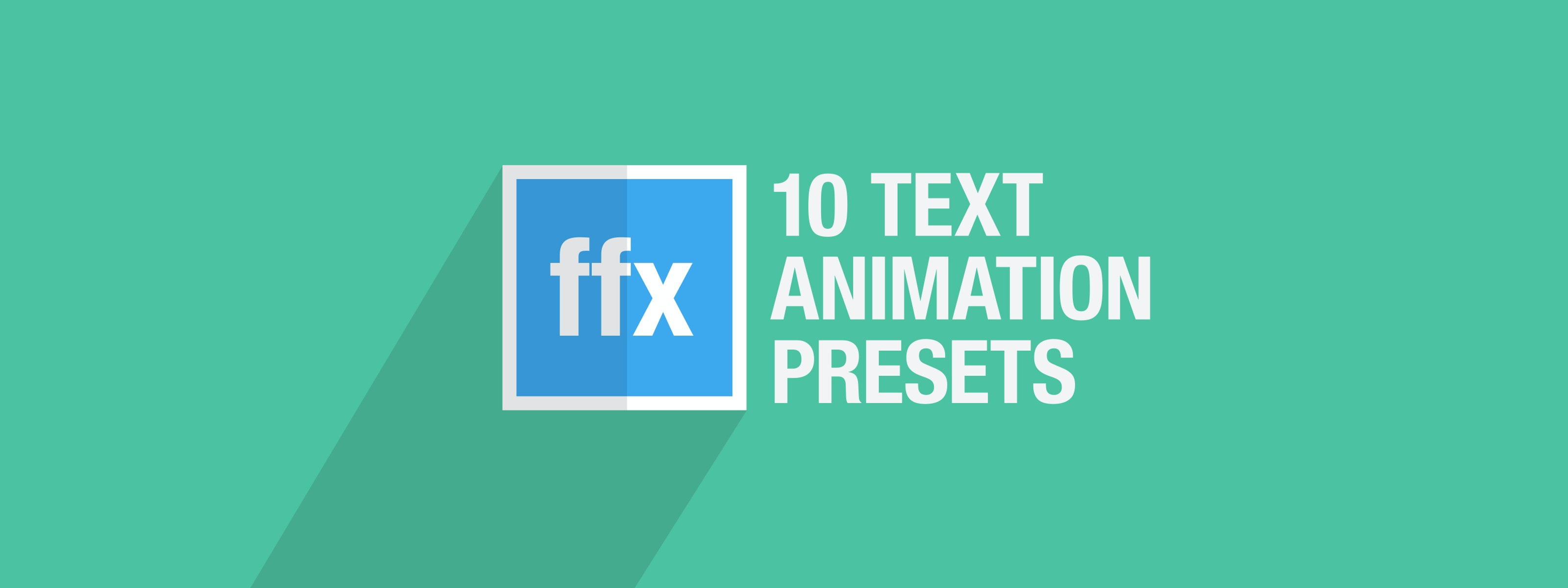 10 Free After Effects Text Animation Presets Motion Array