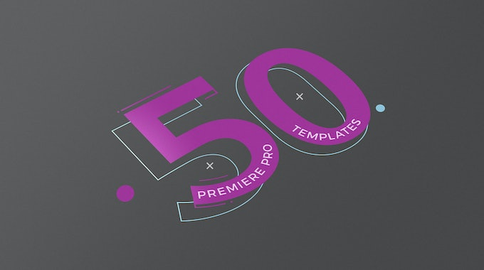 50 Premiere Pro Templates To Make The Best Videos