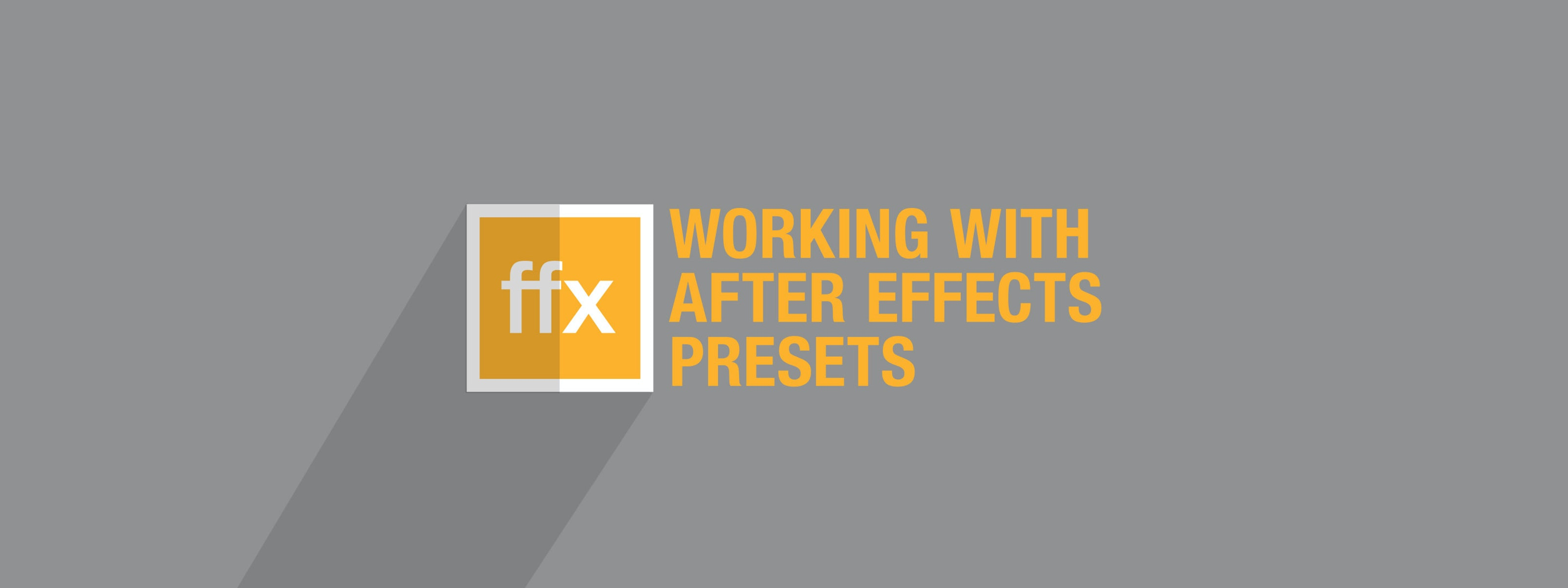 Installing and Using After Effects Presets | Motion Array