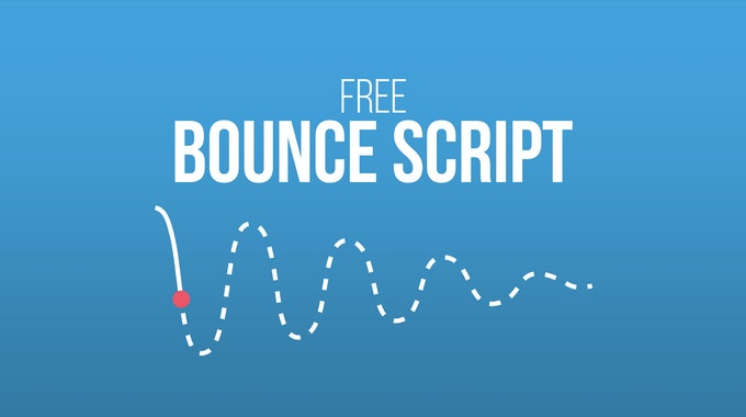 How To Create A Realistic Bouncing Effect In After Effects
