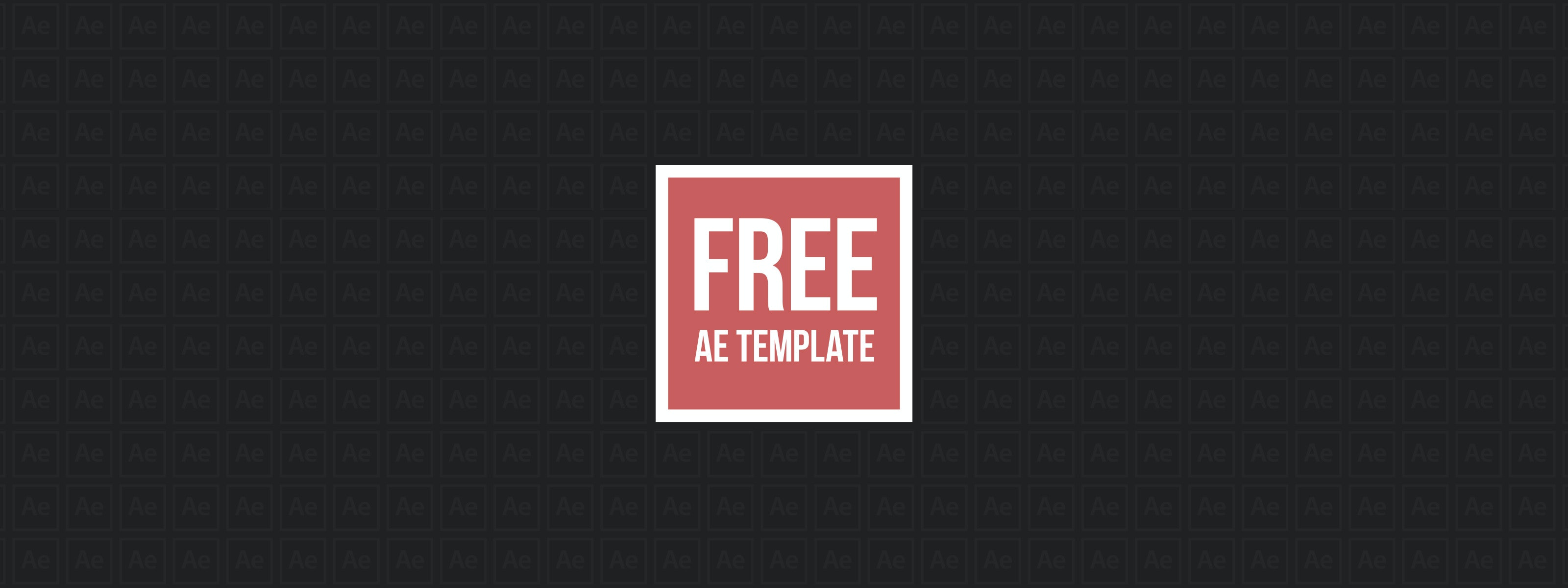 free cubic after effects template | motion array, Powerpoint templates