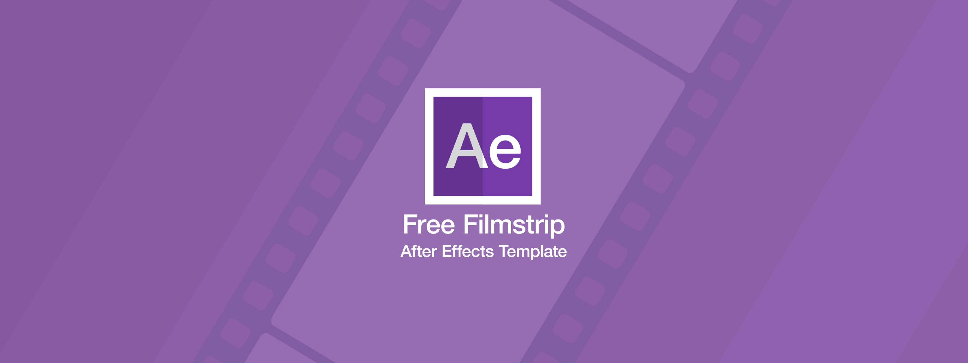 free ae templates - free filmstrip after effects template motion array
