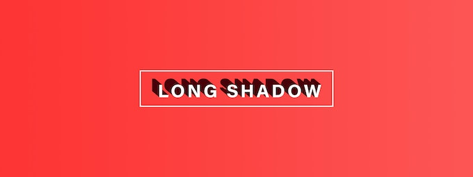 Take Audiences Back With Our Long Shadow Effect!