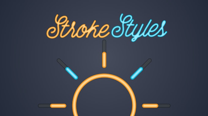 How To Give Your Strokes Style In After Effects