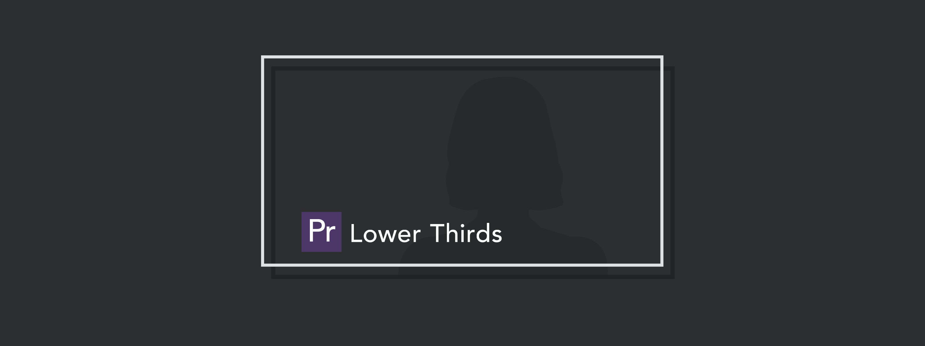 lower thirds graphic