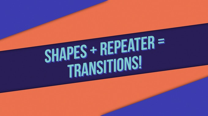 How To Make Custom Animated Transitions In After Effects