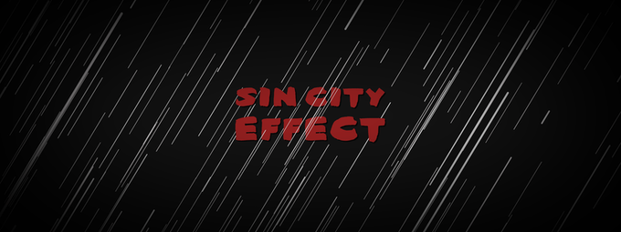 Solo Color Effect Tutorial | Sin City Effect