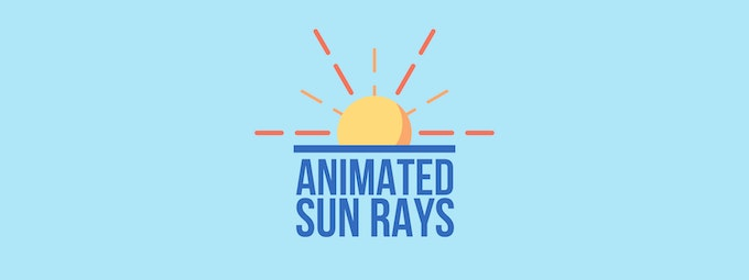 How To Create Animated Sun Rays In After Effects