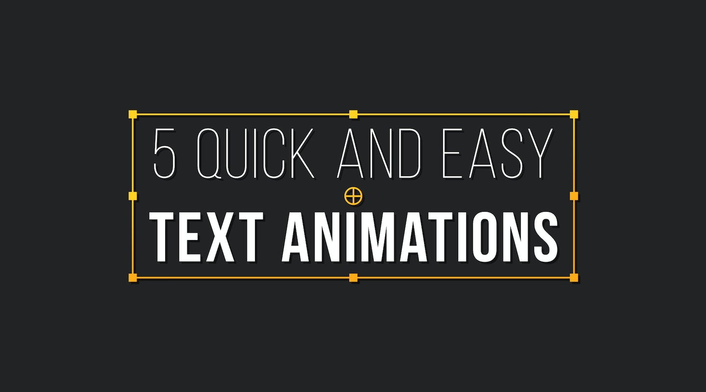 Tutorials motion array tutorials how to create 5 awesome text animations in after effects baditri Images