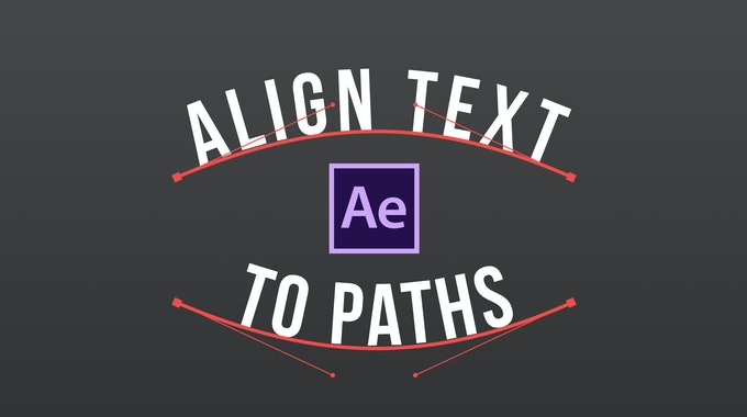 How To Make Your Text Follow A Path In After Effects