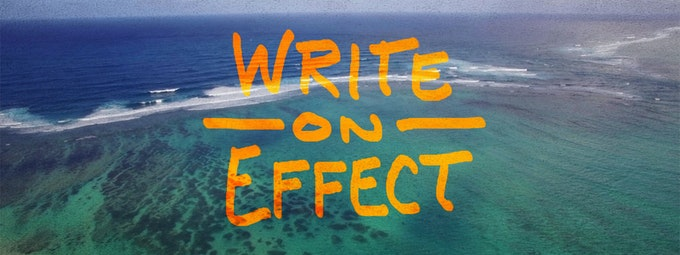 How To Create A Write-On Effect In After Effects
