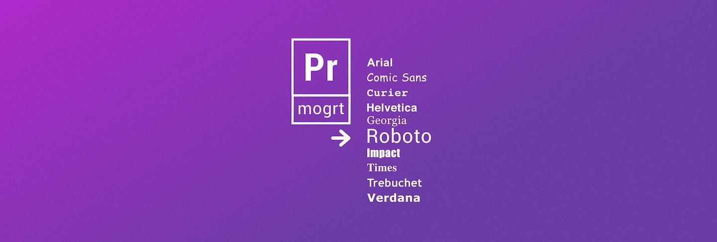 How To Change Fonts In Motion Graphics Templates