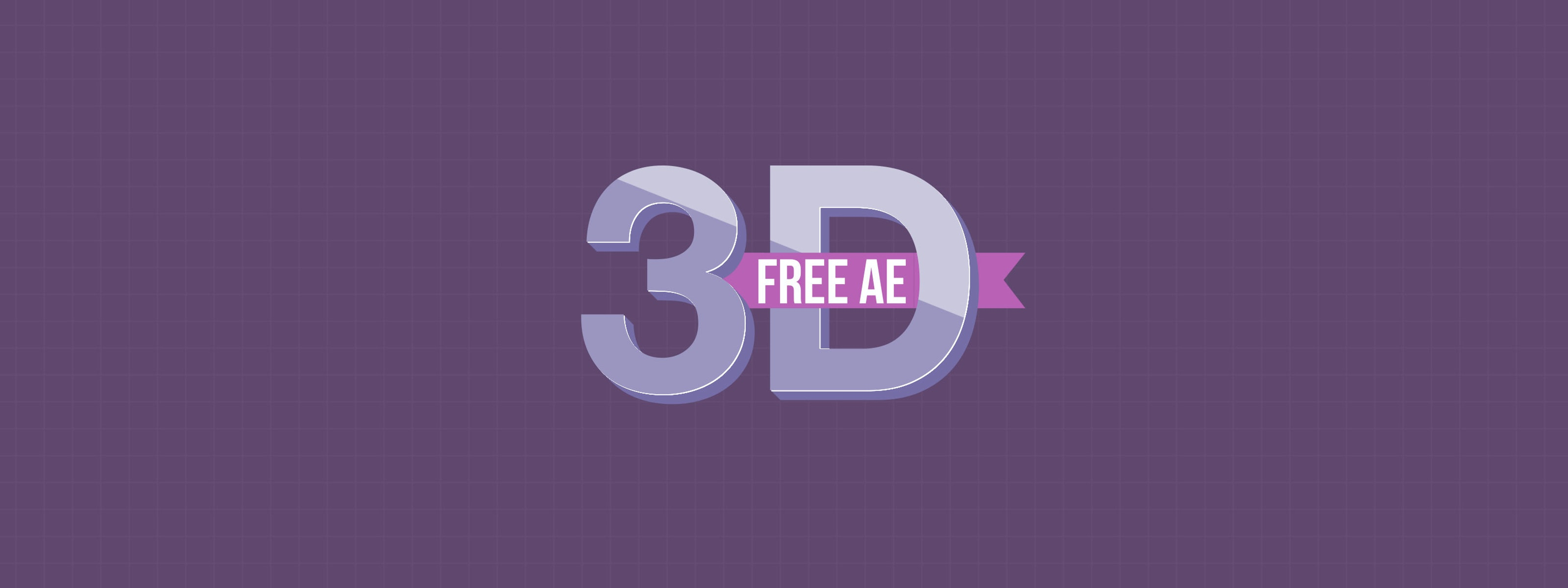 Get Our FREE 3D Text After Effects Template | Motion Array