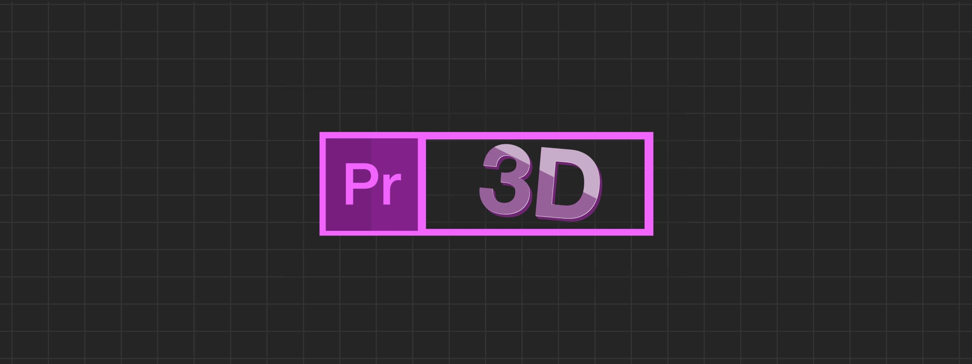 Working With D Text Animations In Premiere Pro Motion Array - Premiere pro motion graphics templates