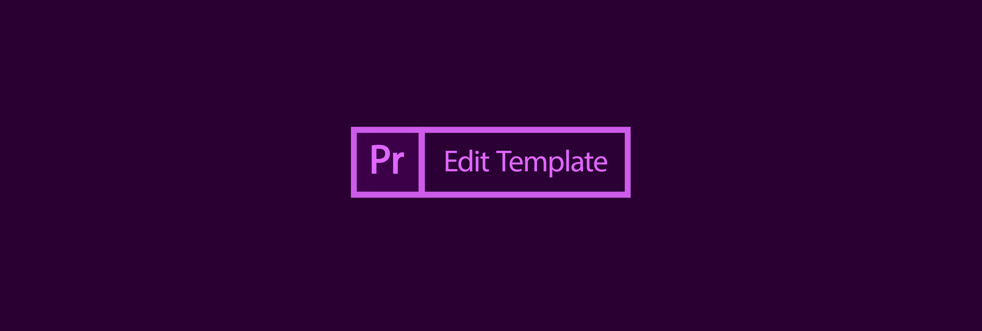 Free Premiere Pro Edit Template | Motion Array